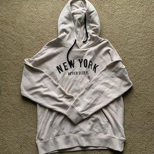 NWOT Tan NY Hoodie
